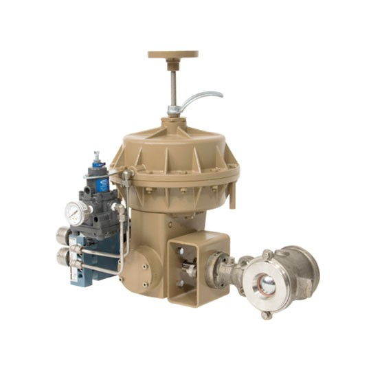 Eccentric rotary plug valve Cashco RangerQCT