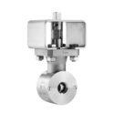 Ramén Ball Sector valve type KS-25