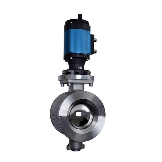 Ramén Ball Sector valve for basis weight applications