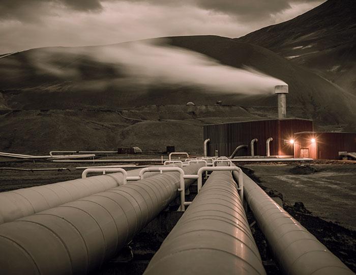 Gas line Scandinavia