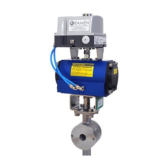 Pneumatic actuator Wirematic