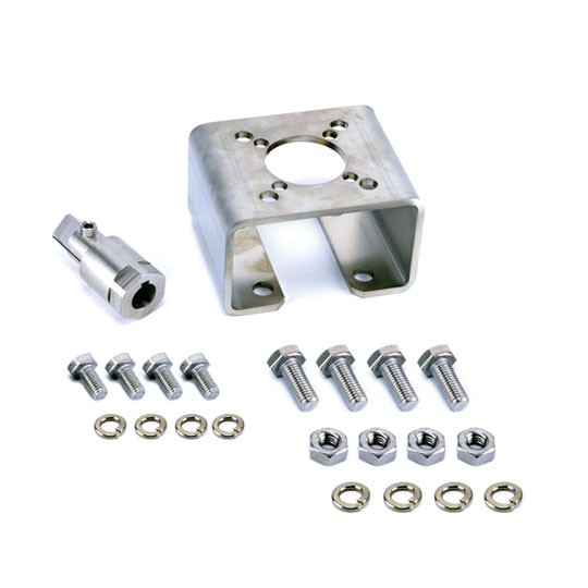 Mounting kit for Ramén Ball Sector Valve DN 25-100