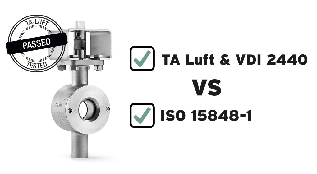 TA Luft / VDI 2440 vs ISO 15848-1 – What is the difference between the standards?
