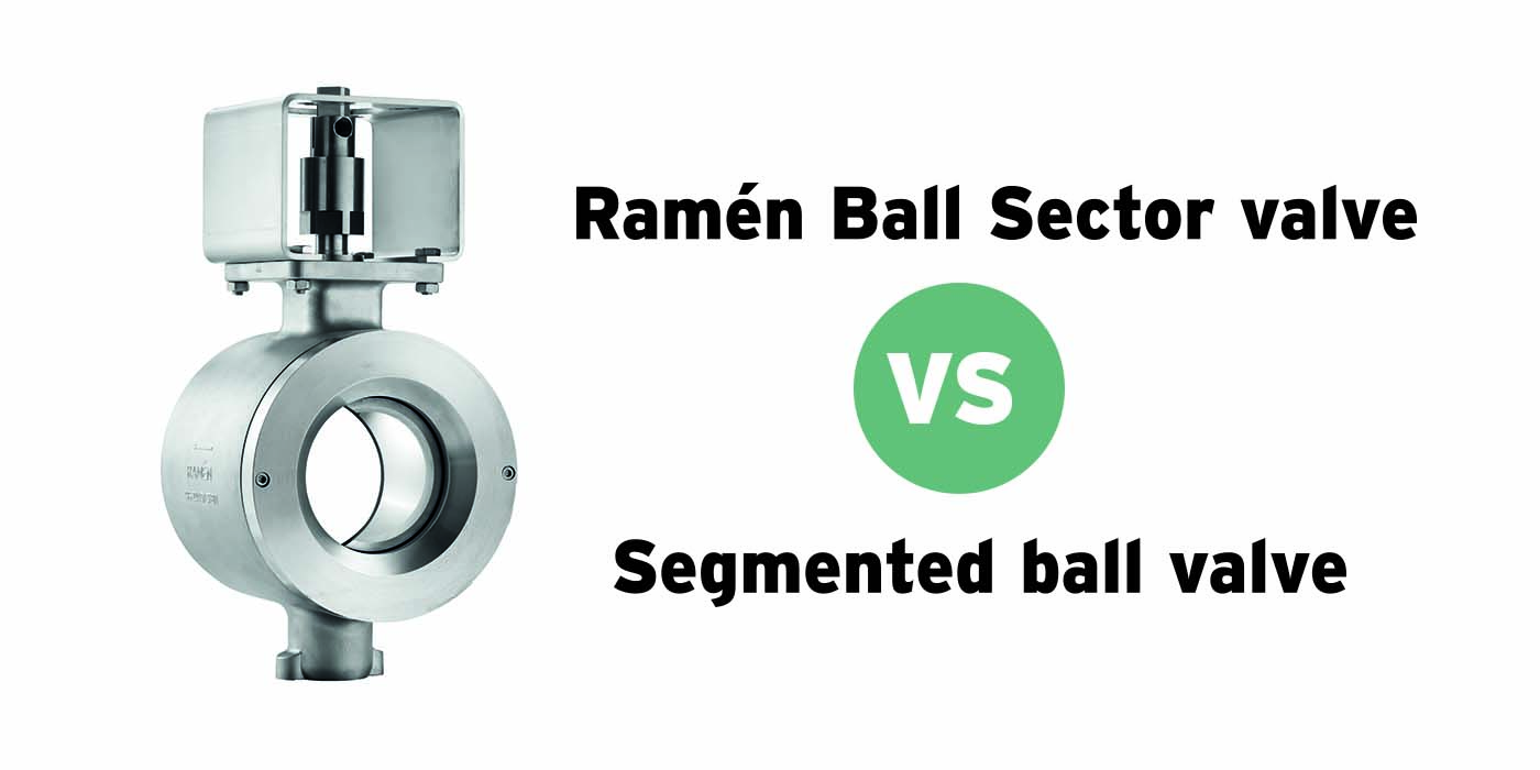 The differences between Ball Sector valves and Segmented ball valves