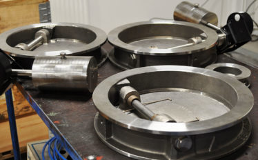 Engelsberg Swing check valves with counterweight